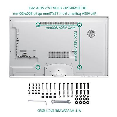 WALI Table Top for Most 22 to 65 inch LCD Flat Screen up
