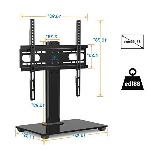 PERLESMITH Universal - Stand for LCD - Height TV Stand Base VESA
