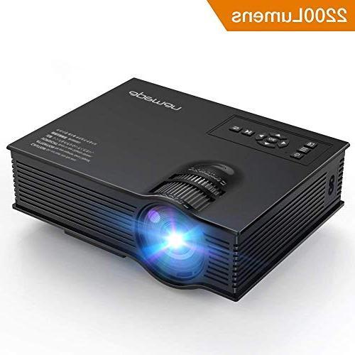upgraded mini projector pico portable