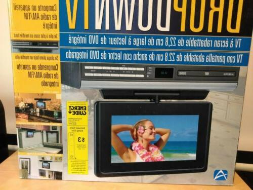 Audiovox VE927 LCD TV with DVD Player Clock AM/FM