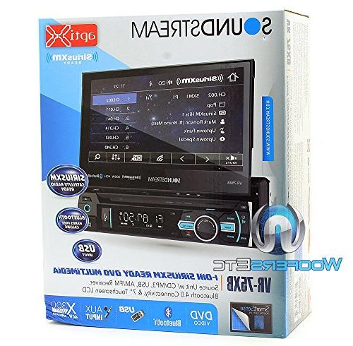 "Soundstream In-Dash 7"" Screen DVD, CD/MP3, AM/FM with"