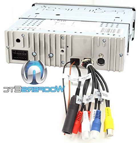 "Soundstream VR-75XB In-Dash 1-DIN 7"" LCD CD/MP3, Bluetooth Ready"