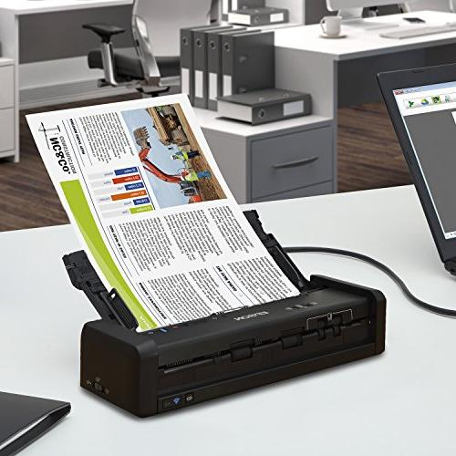 Epson Workforce Wireless Color Portable with for PC and Mac, Sheet-fed Duplex Scanning