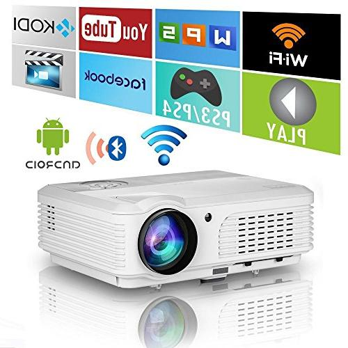 wxga hdmi wireless projector bluetooth