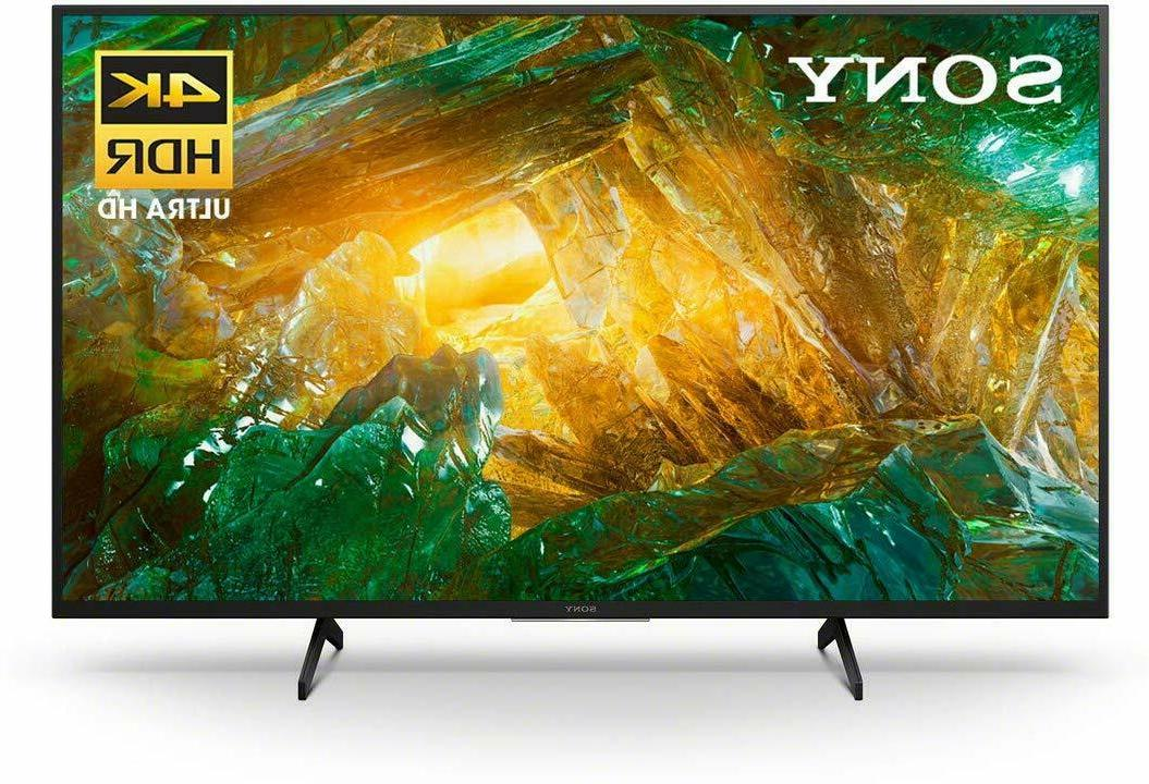 "Sony X800H Series 49"" 4K Ultra HD HDR Smart Android LED TV -"