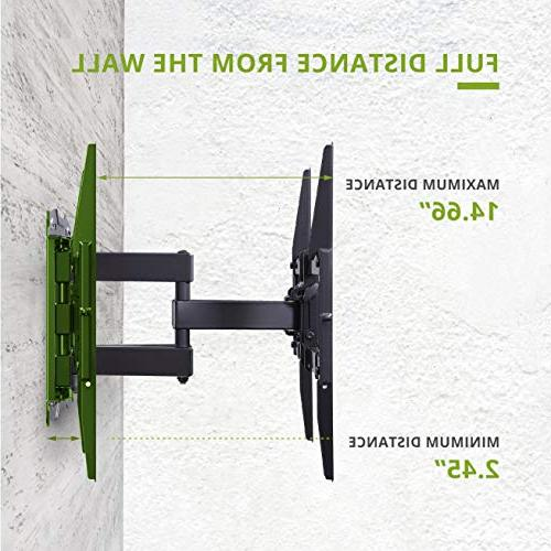 """Mount TV Swivel Tilt for Most Flat Screen, LED, TVs-with Max VESA 600x400mm-Weight Capacity Fits 16"""""""