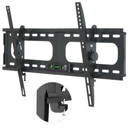 Large Heavy Duty Tilt TV Wall Mount Extra Wide Plate VESA Br