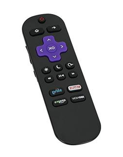 New LC-RCRUS-17 TV Remote Control Compatible with Sharp Roku