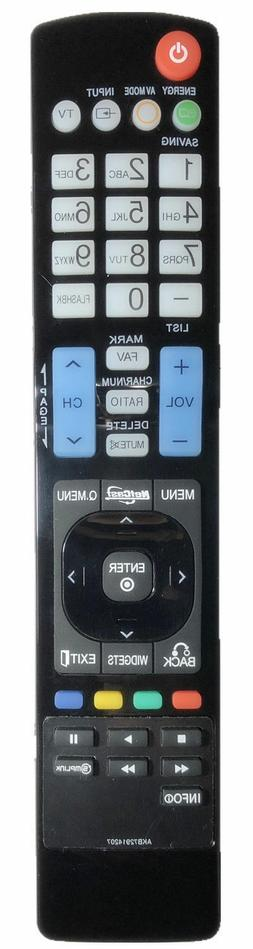 LG AKB72914207 Replacement 4K Smart LCD/LED HDTV Remote for