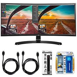 LG Curved UltraWide IPS Monitor  with Xtreme Performance TV/