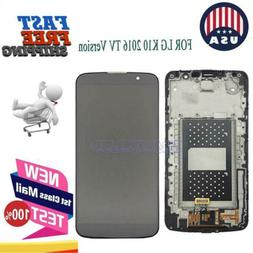 For LG K10 2016 TV Black LCD Touch Screen Digitizer Display