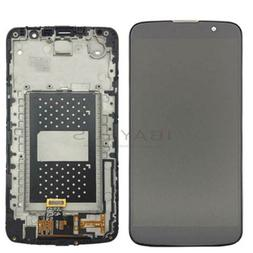 For LG K10 2016 TV LCD Touch Screen Digitizer Display Frame