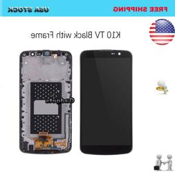 For LG K10 TV K430TV LCD Display Screen Touch Digitizer Repl