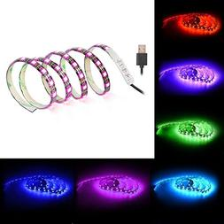 LUNSY LED Flexible Light Strip 1 Meter/3.28 Foot, 60 LEDs SM