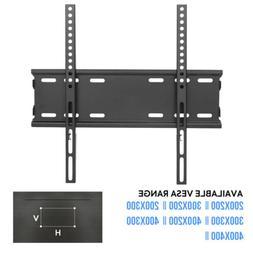 Low Profile TV Wall Mount Heavy-duty Steel TVs Monitor Brack