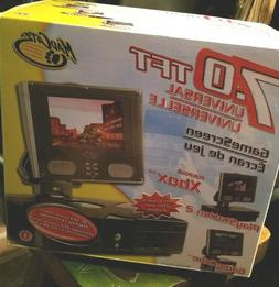 "Mad Catz 7"" Universal LCD Travel Display Game Screen Xbox PS"