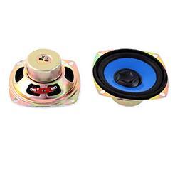 2pcs 5W 4 Ohm Magnet Speaker Loudspeaker 80x80mm for TV Play