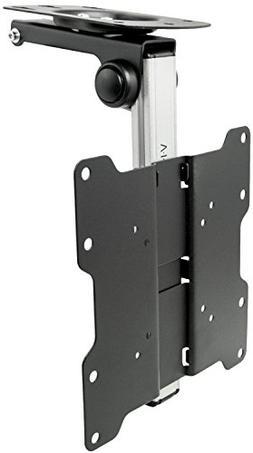 VIVO Manual Flip Down Under Cabinet Mount Folding Tilt Pitch