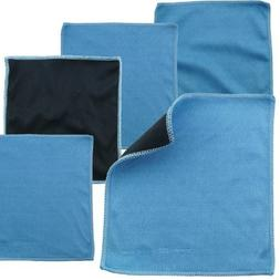 Microfiber Cleaning Cloths - 5 Pieces Pack of Double-sided C