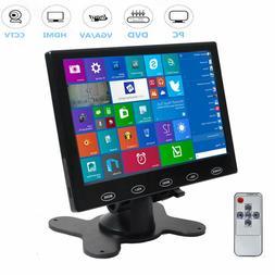 """Mini 7"""" LCD 800x480/1024x600 VGA AV HDMI 1080p HD Monitor fo"""