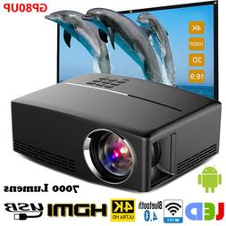 multimedia 4k 1080p wifi android bluetooth 3d