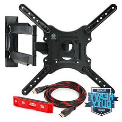 Mountio MX1 Full Motion Articulating TV Wall Mount Bracket f