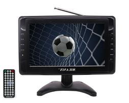 "Milanix 10"" Portable Widescreen LCD TV w/ Digital TV Tuner &"