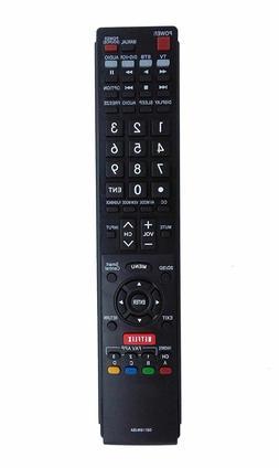 New GB118WJSA Remote for SHARP AQUOS TV LC60SQ17 LC60SQ17U L
