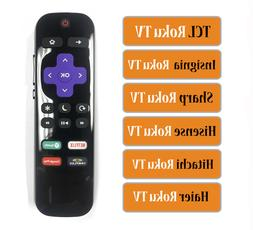 Replacement Remote fit for TCL/ Insignia/ Sharp/ Hisense/ Ha