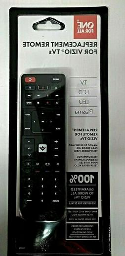 NEW ~ ONE FOR ALL Replacement Remote For Vizio TVs LCD, LED,