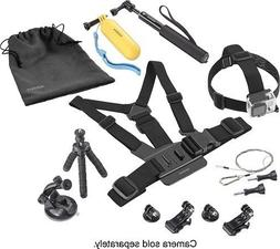 Insignia NS-DGPK10 Essential Accessory Kit for GoPro Action