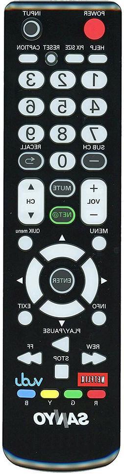 Original SANYO full function TV remote control - Universal f