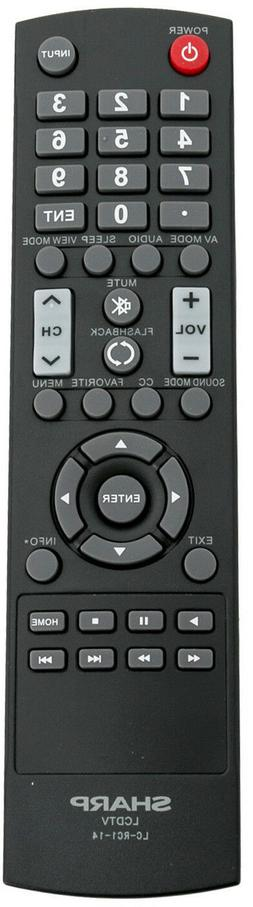 Original Sharp LC-RC1-14 Remote Control for Sharp LCD/ LED T
