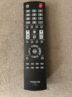 Original Sharp LCDTV Remote Control LC-RC1-14 **NEW**