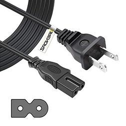 BRENDAZ 6-feet 2-Slot Polarized Power Cord, UL Listed  for A