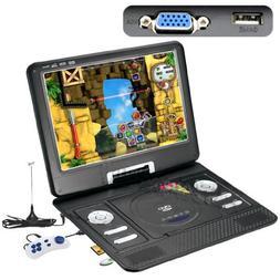 "13.3"" Portable DVD Player LCD Screen Display CD VCD MP3 MP4"