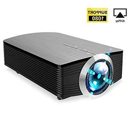 GAOAG Protable Mini Movie Projector Multimedia Home Theater