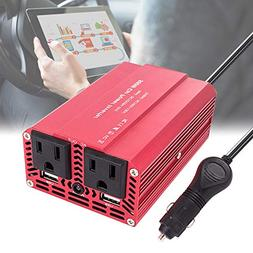 imoli 300W/500W Power Inverter DC 12V to AC 110V Car Inverte