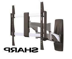 Premium Full Motion Sharp TV Wall Mount 37 40 42 50 51 55 60