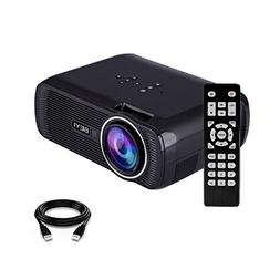 2800 Lumens Video Projecto, BEYI Portable Mini Multimedia Ho