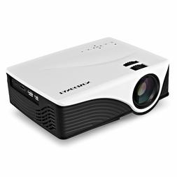 TANGCISON Video Projector,LCD Projector 1080P Portable Proje