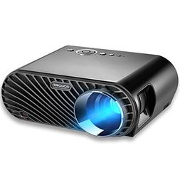"""Projector, GooDee 3200 Lumens Video Projector 180"""" HD LCD Mo"""