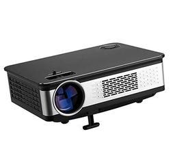 LED Projector LCD Screen TV HD 1080P 3000 Lumens Home Portab