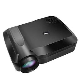 LED Projector 5.8-inch Screen LCD TV HD 1080P 3000 Lumens Po