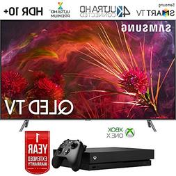 "Samsung QN75Q8FNB 75"" Q8FN QLED Smart 4K UHD TV  with Micros"