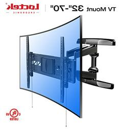 Loctek R2 Both Curved and Flat TV Wall Mount Bracket for Mos