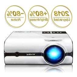 Projector,2018 Upgraded  Remoze Mini Portable LED Video Proj