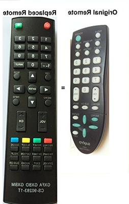 New Replaced Sanyo GXFA Replaced Remote for GXCC DP19648, DP
