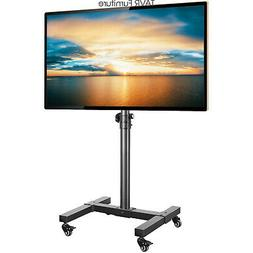 Rolling TV Stand Cart with Wheels for 13-42 inch LCD LED OLE