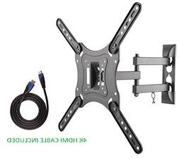 Jestik Rotating TV Wall Mount For Most 23''-55'' LED, LCD Fl